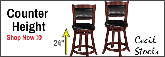 Counter Height Bar Stools - 24