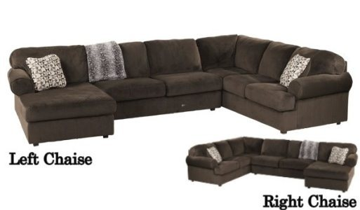3 Pc. Jessa Place Chocolate Sectional Set By Ashley Furniture